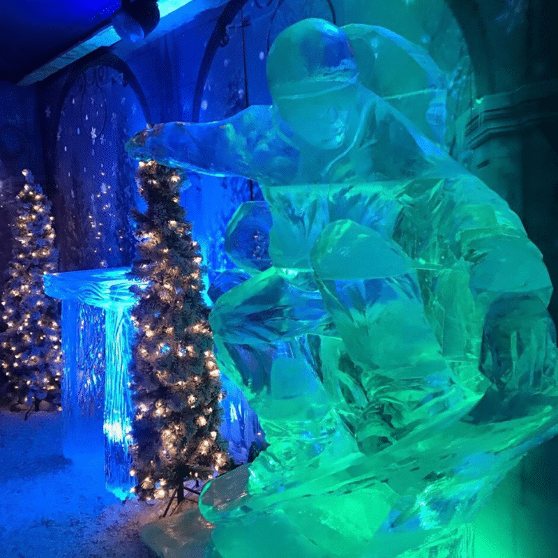Winter Wonderland Ice Sculpture